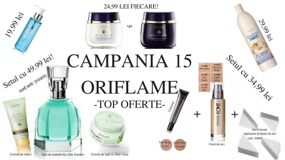 CAMPANIA 15 ORIFLAME
