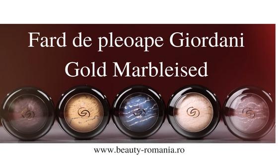 Fard de pleoape Giordani Gold Marbleised Oriflame